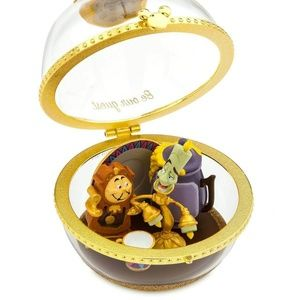 Disney Ornament Lumiere and Cogsworth